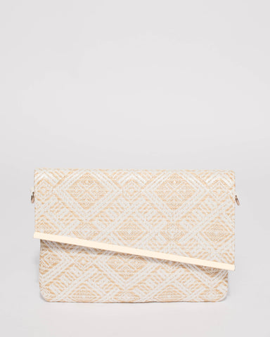 Natural Nella Clutch Bag