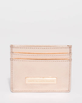 Rose Gold Pwp Card Purse
