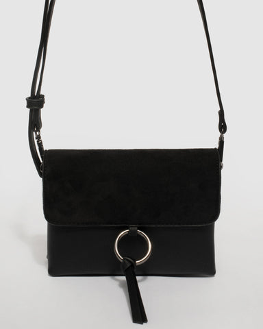 Black Brooklyn Crossbody Bag