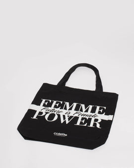 Black Femme Power Tote Bag