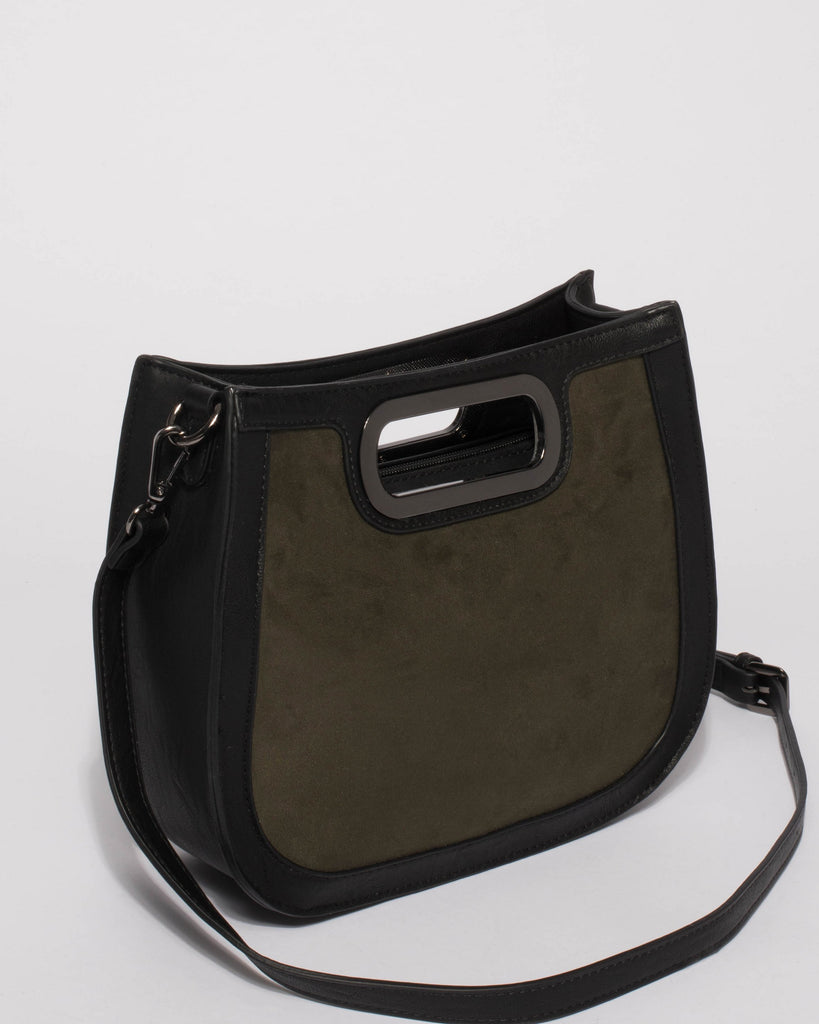 Olive Jana Structured Tote Bag