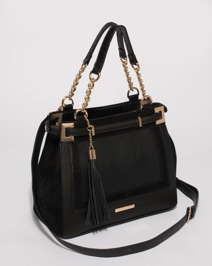 Black Zoe Multi Tote Bag