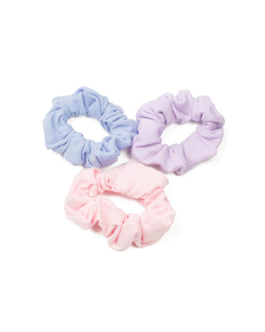 Multi Colour Jersey Multi Scrunchies