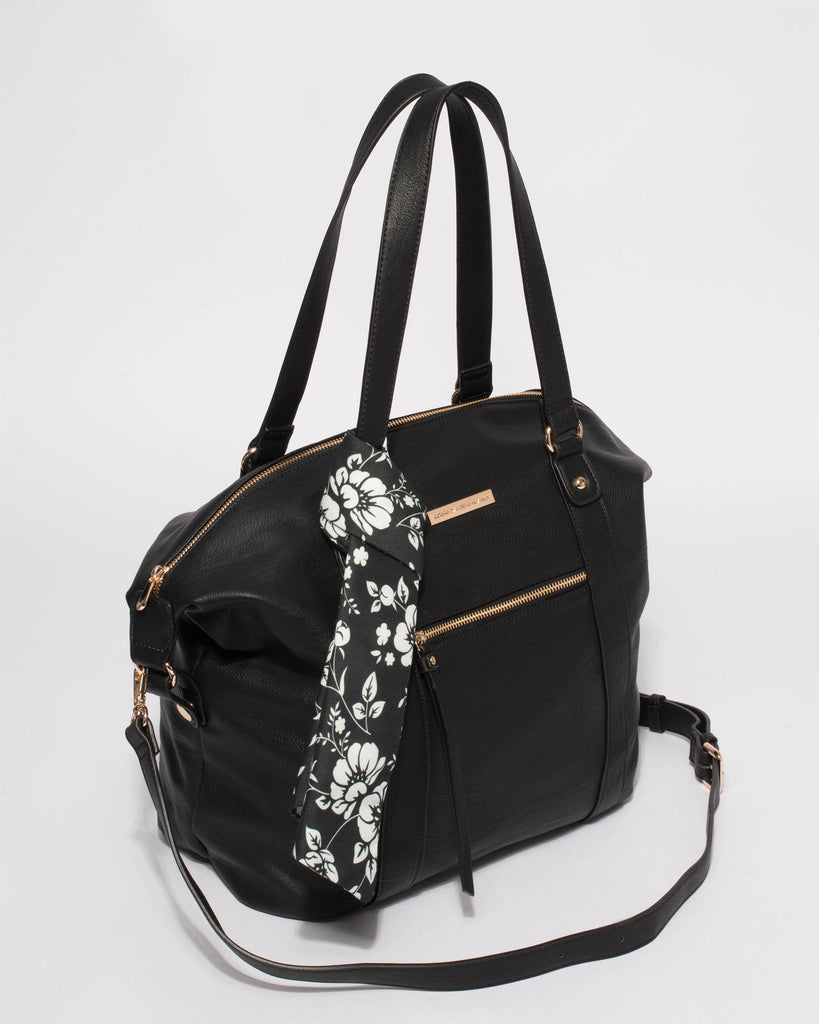Black Jemima Slouch Bag