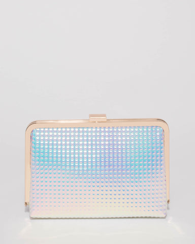 Hologram Lucille Clutch Bag