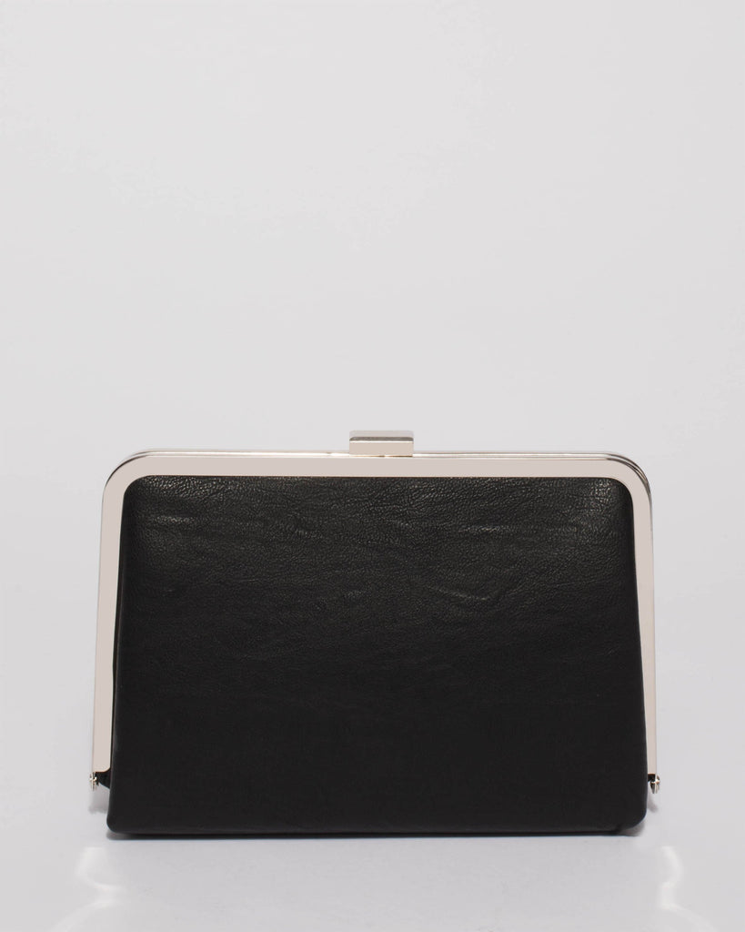 Black Lucille Clutch Bag