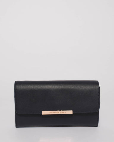 Navy Bridget Evening Clutch Bag