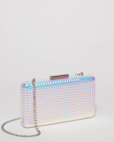 Hologram Callie Hardcase Clutch Bag
