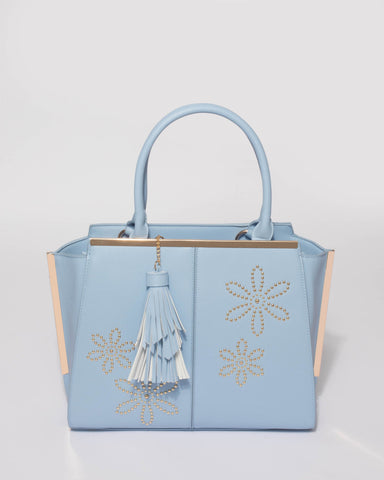 Blue Flower Limited Edition Large Tote Bag