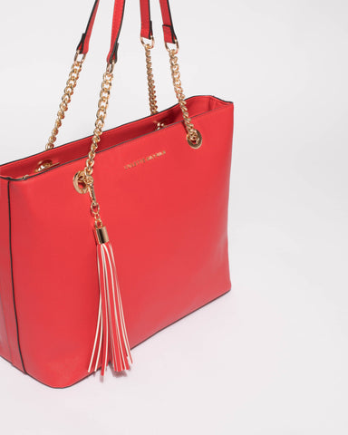 Red Colette Premium Tote Bag