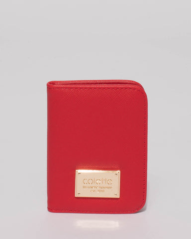 Red Est Credit Card Purse