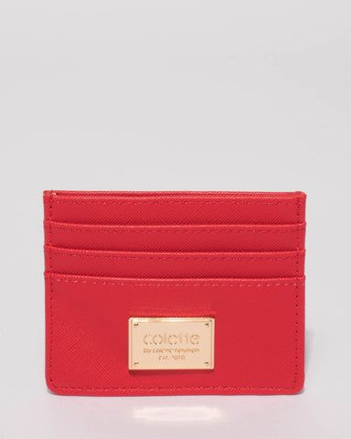 Red Mila Credit Card Purse