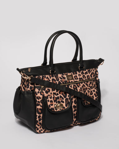 Leopard Baby Travel Bag