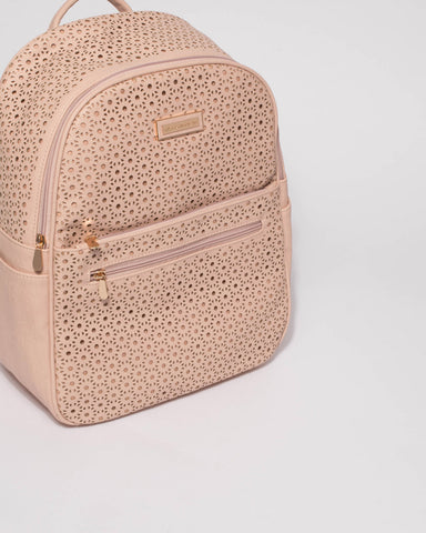 Pink Punch Out Gracey Design Backpack