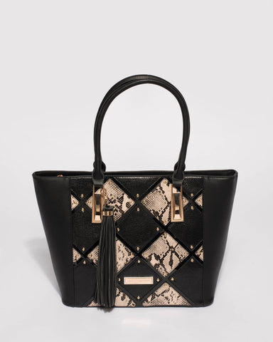 Black And Gold Matilda Limited Edition Tote Bag