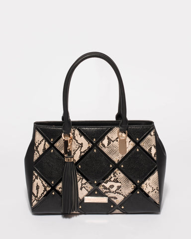 Black And Gold Tilda Medium Limited Edition Tote Bag