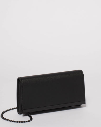 Black Barbara Small Clutch Bag
