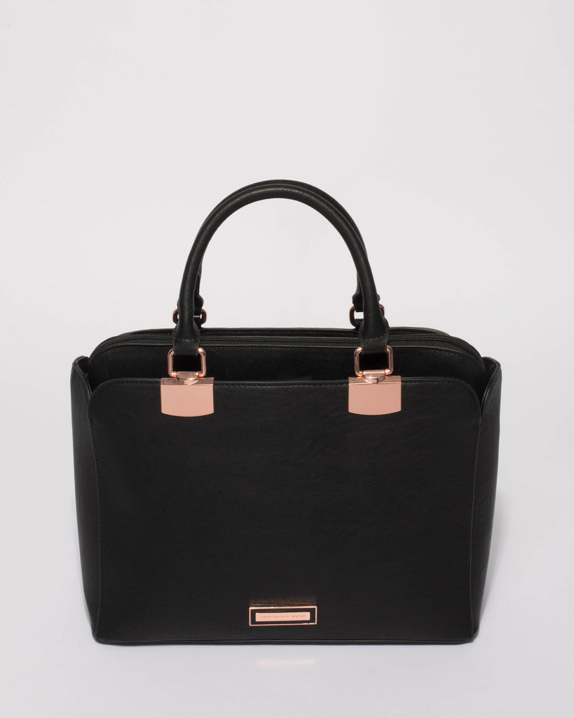 Black Ellen Tech Tote Bag