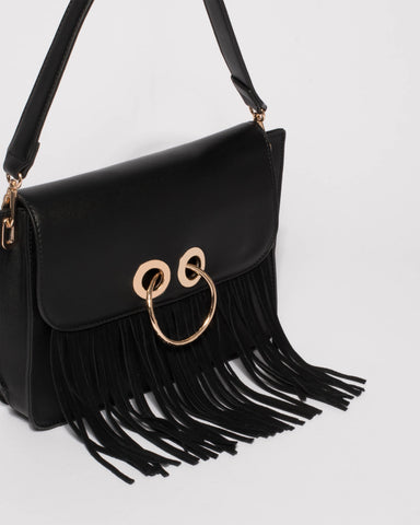 Black Belinda Shoulder Bag