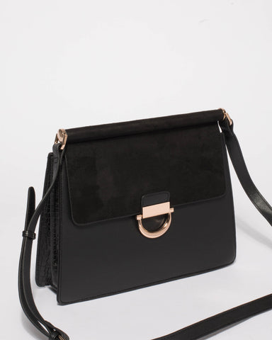 Black Ella Shoulder Bag