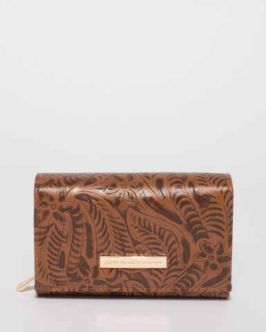 Tan Dana Multi Pocket Wallet