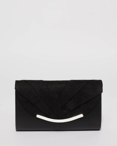 Black Winny Evening Clutch Bag