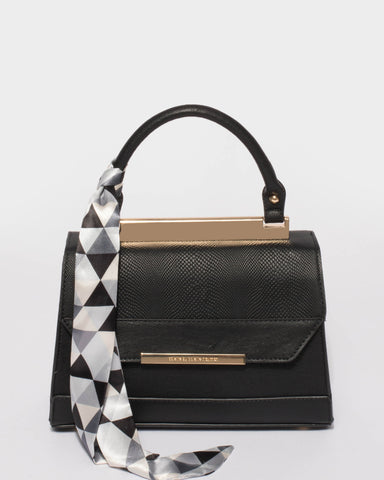 Black Renee Top Handle Mini Bag