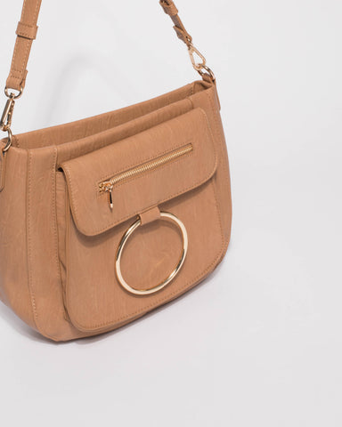 Caramel Hannah Ring Tote Bag