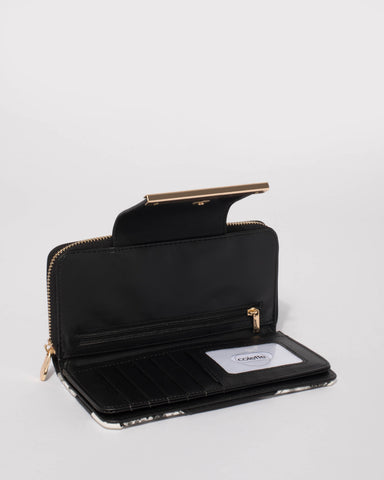 Monochrome Ava Panel Wallet