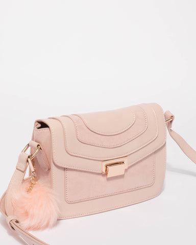 Pink Mac Multi Crossbody Bag Bag