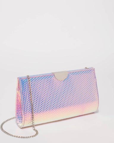 Hologram Carlie Clutch Bag