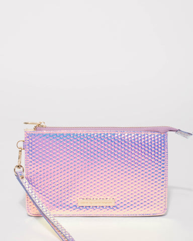 Hologram Milly Wristlet Purse