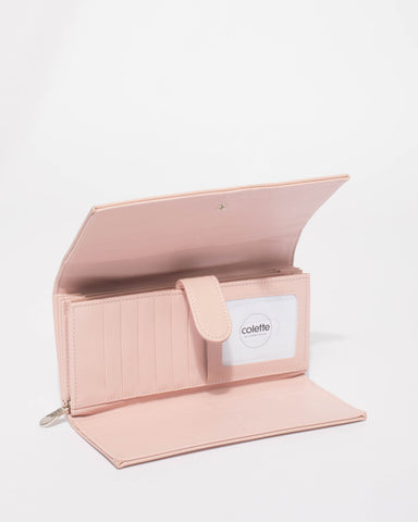 Pink Allison Basic Wallet