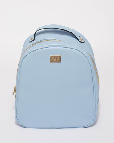 Blue Belinda Backpack