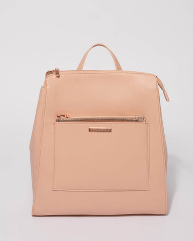 Pink Spencer Backpack