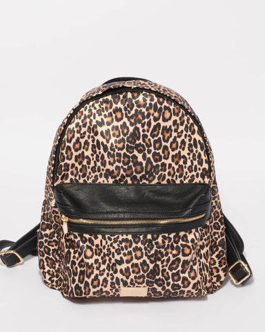 Leopard Emalee Large Backpack