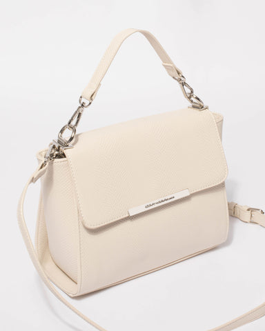 Ivory Mara Top Handle Mini Bag