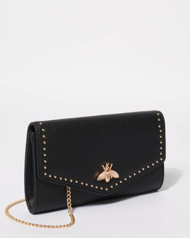 Black Eileen Clutch Bag