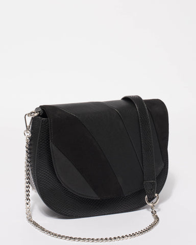 Black Eileen Saddle Bag