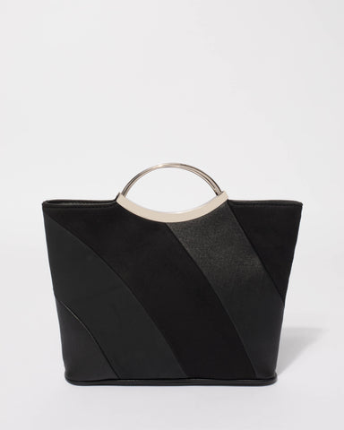 Black Jessie Clutch Bag