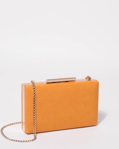 Mustard Jaimi Clutch Bag