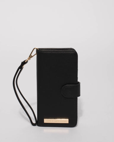 Black Samsung S9 Plus Purse