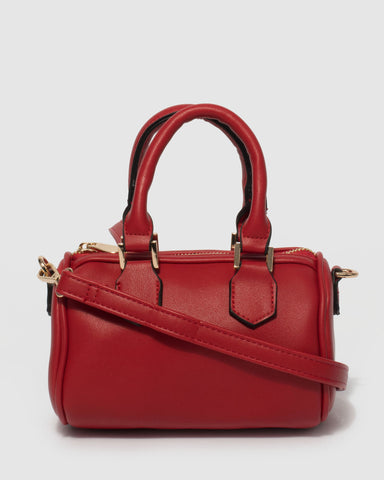Red Lottie Crossbody Bag