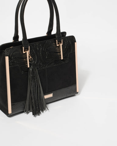 Black Meira Tote Bag
