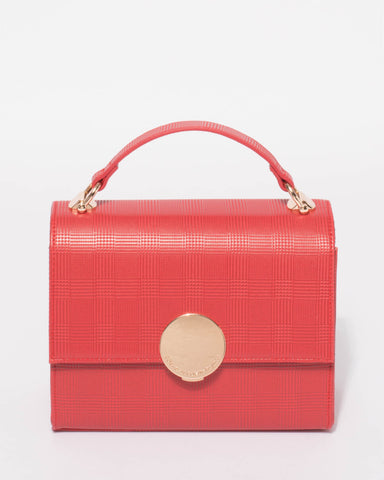 Red Victoria Crossbody Bag