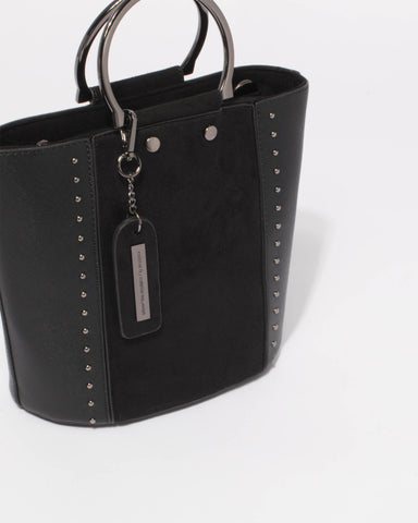 Black Clara Crossbody Bag