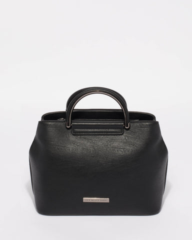 Black Monica Mini Tote Bag