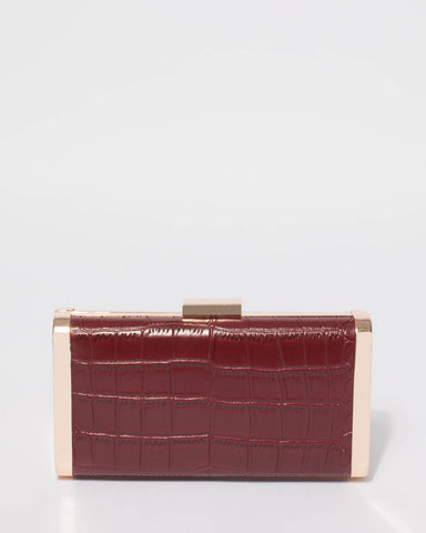 Berry Cara Hardcase Clutch Bag
