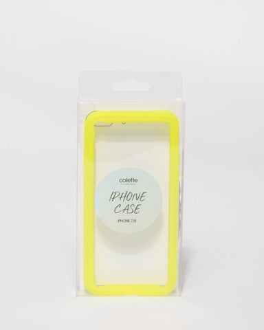 Neon Yellow Iphone 7 & 8 Case