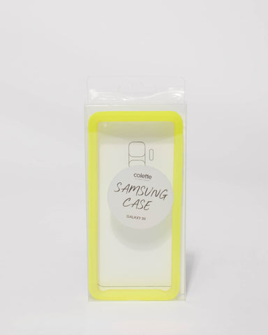 Neon Yellow Samsung Galaxy S9 Case